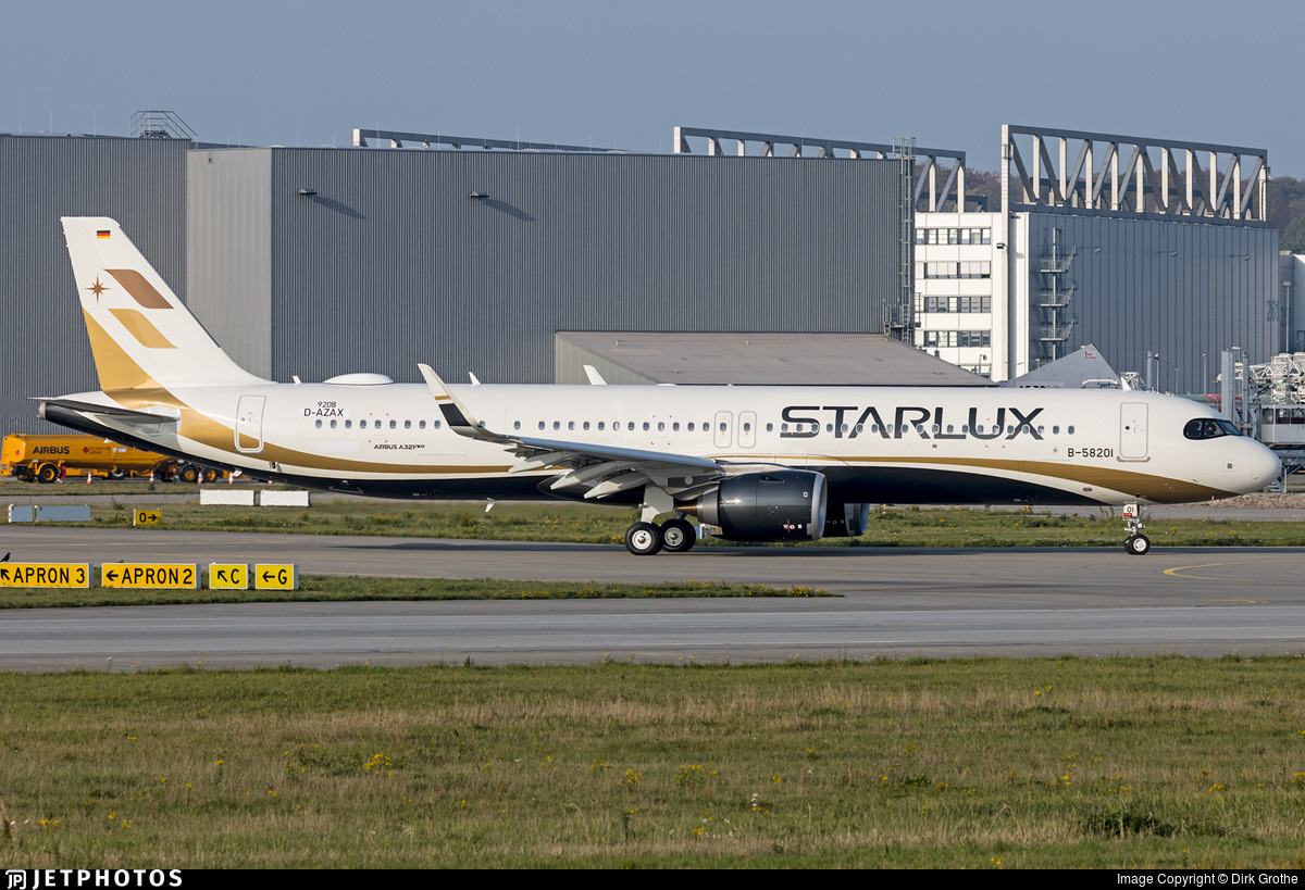Starlux's first A321neo