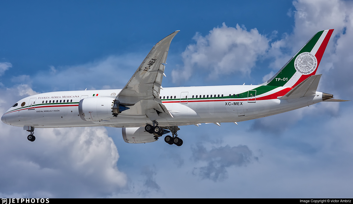 Mexican government 787