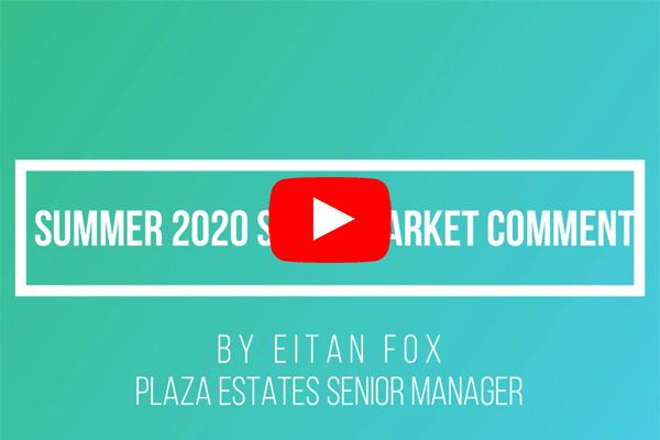 Sales Market Comment Summer 2020 by Eitan Fox