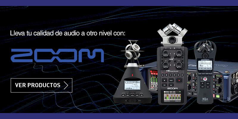 Todas las grabadoras ZOOM están en Apertura