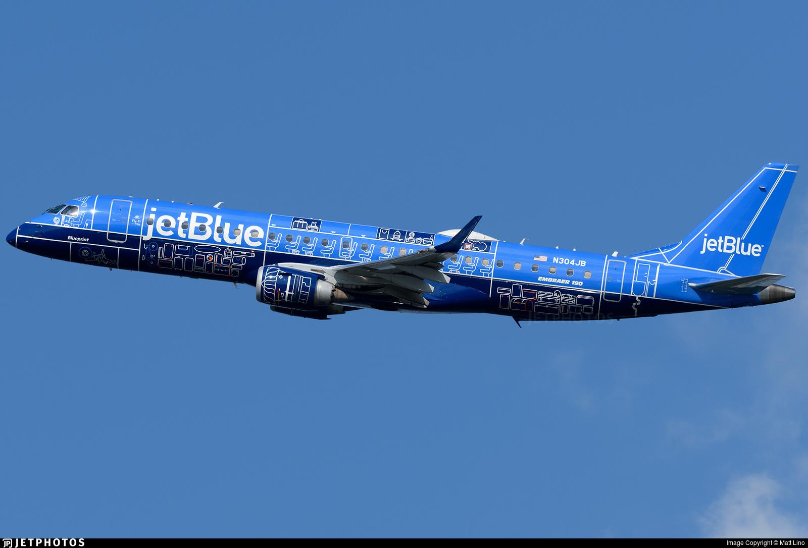 JetBlue's Blueprint E190