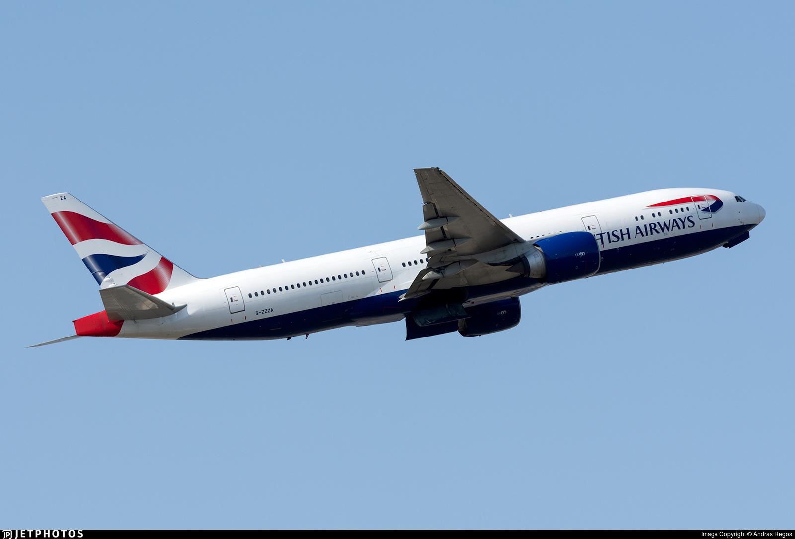 BA 777 G-ZZZA