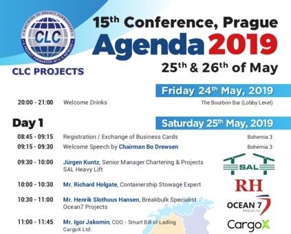 Conference Agenda Link