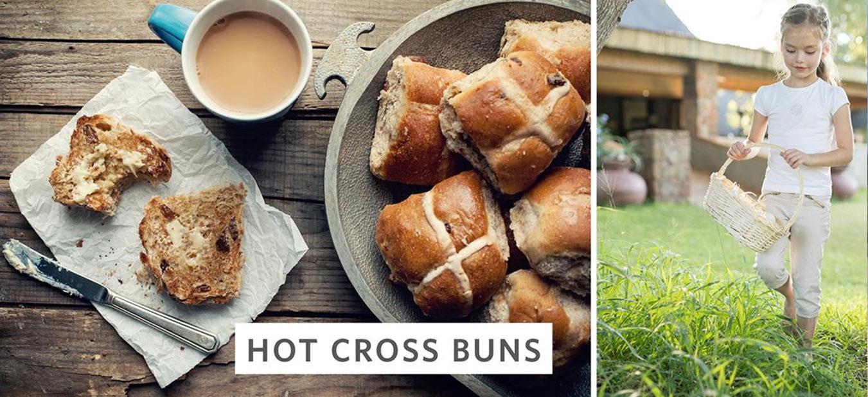 cross buns baking recipe from Singita