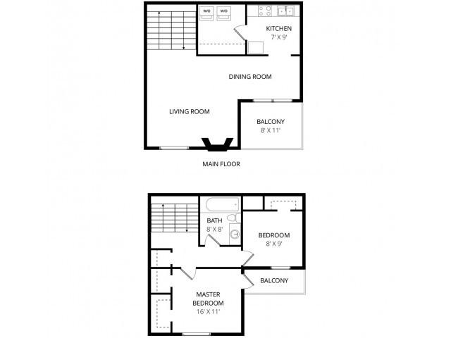 3600 brentwood split level renovated floorplan