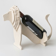 Lion Wine Holder