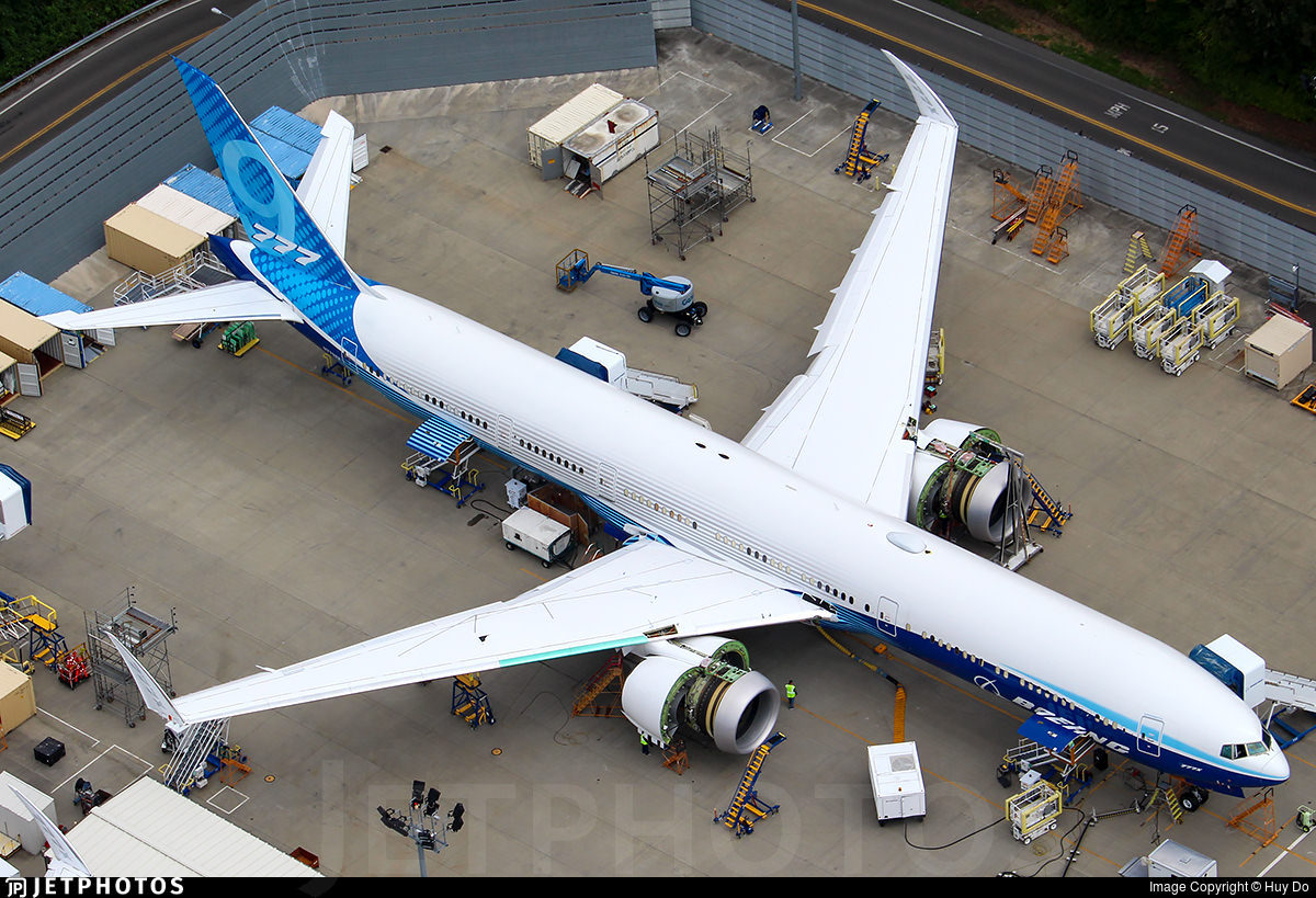Boeing's 2nd 777X test aircraft