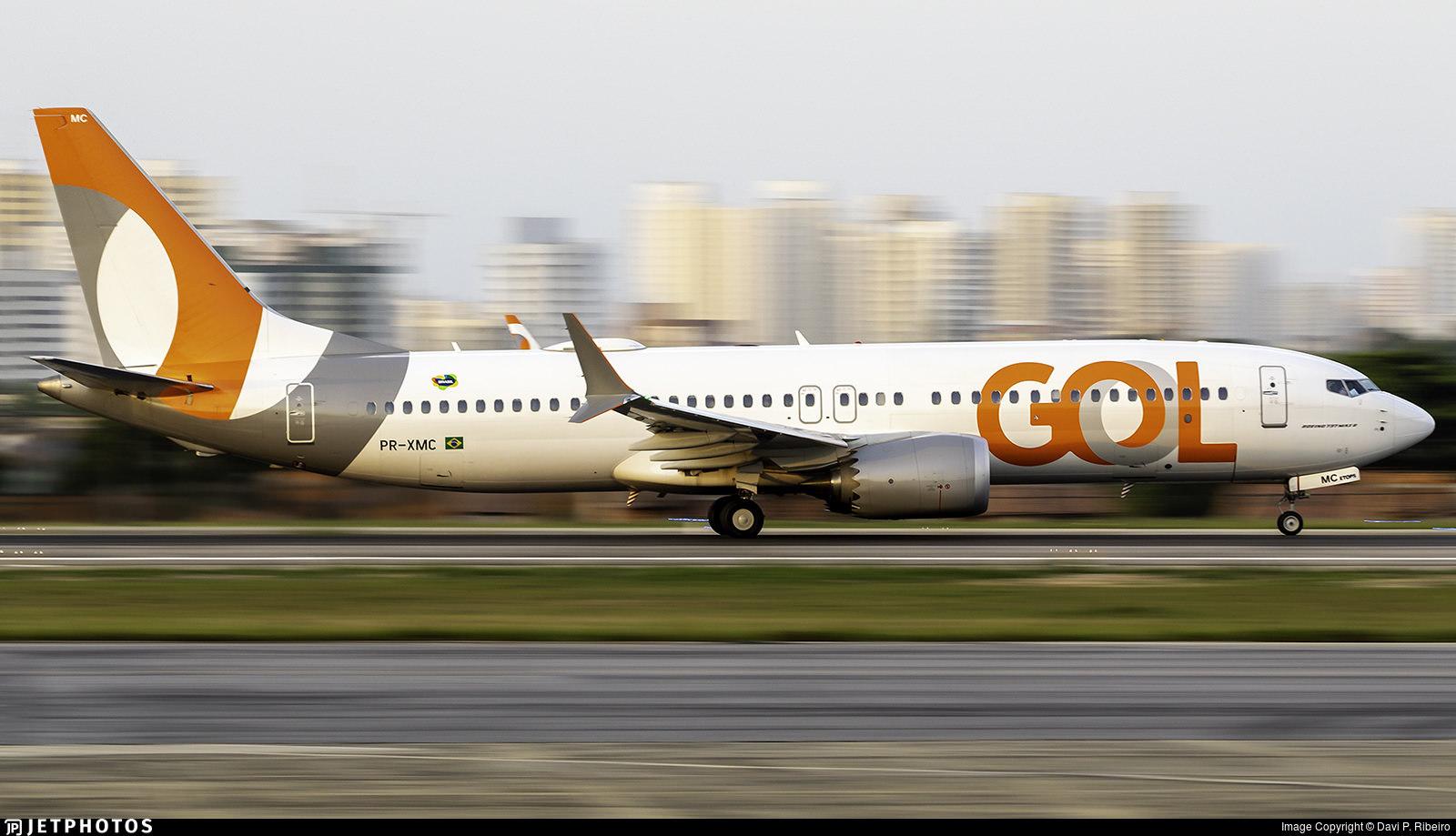 GOL 737 MAX PR-XMC