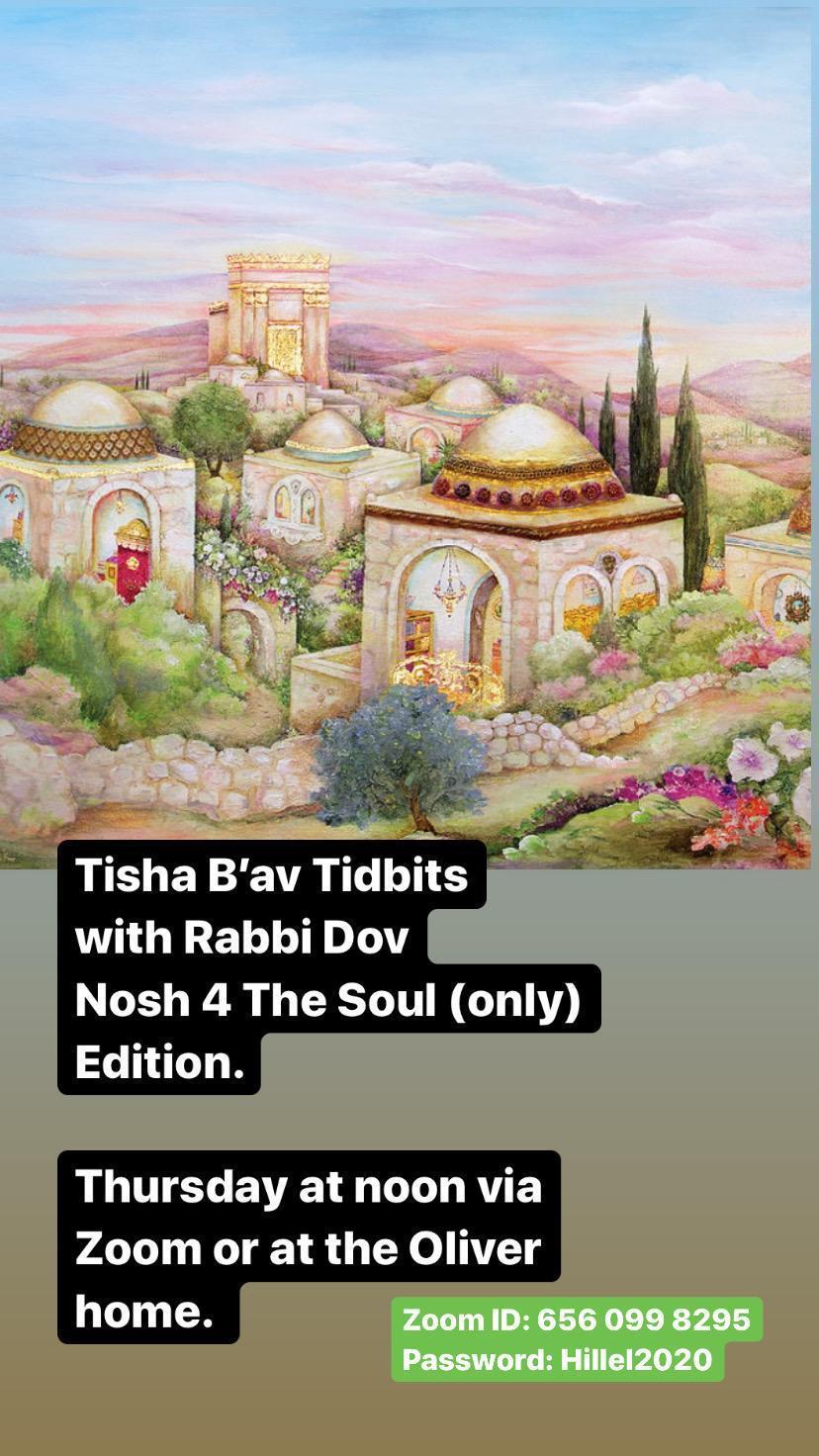 Tisha B'av flyer