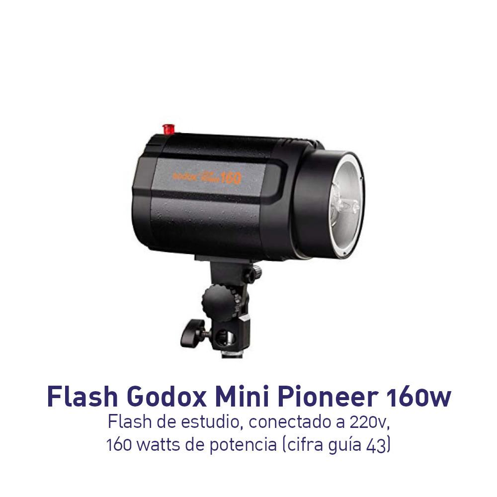 Godox Flash estudio 160 Mini Pioneer 160w