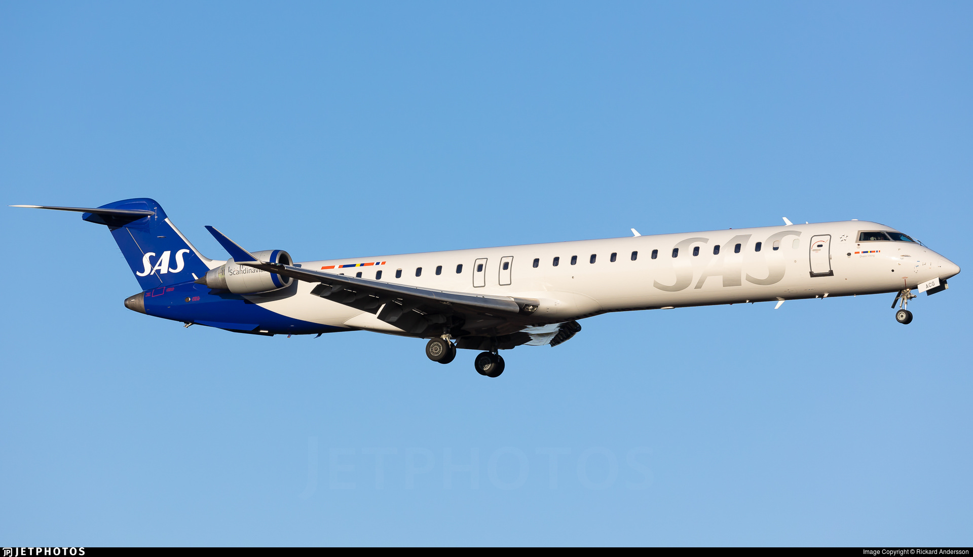 SAS CRJ-900 operated by Xfly