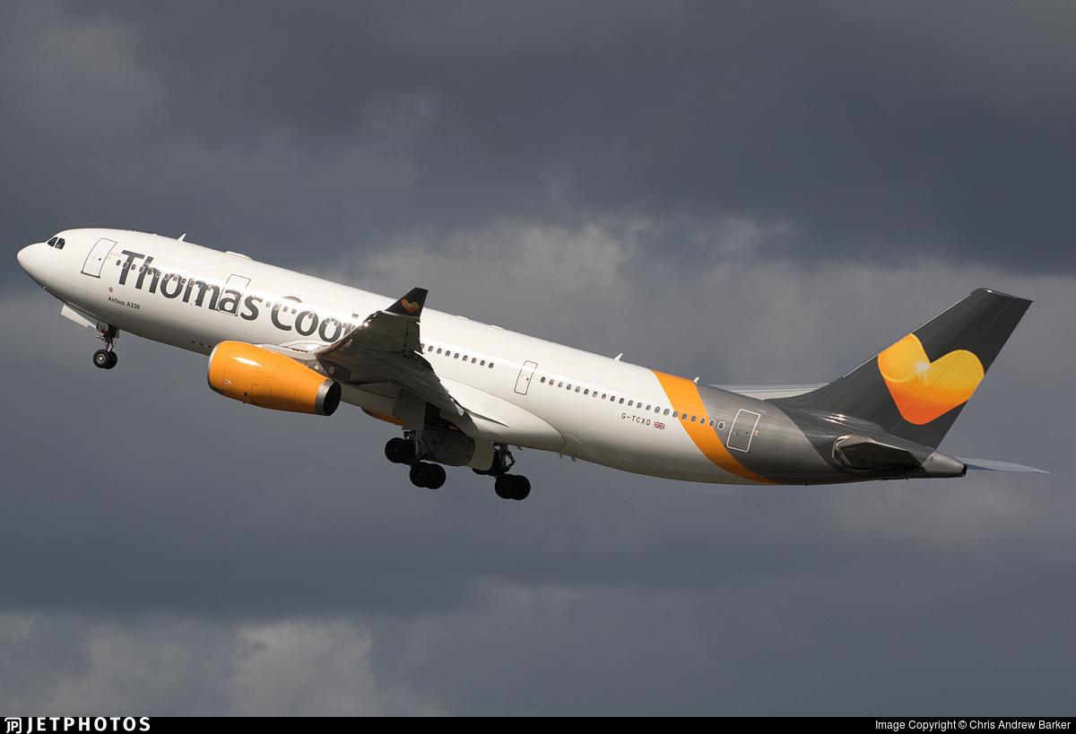 A Thomas Cook A330