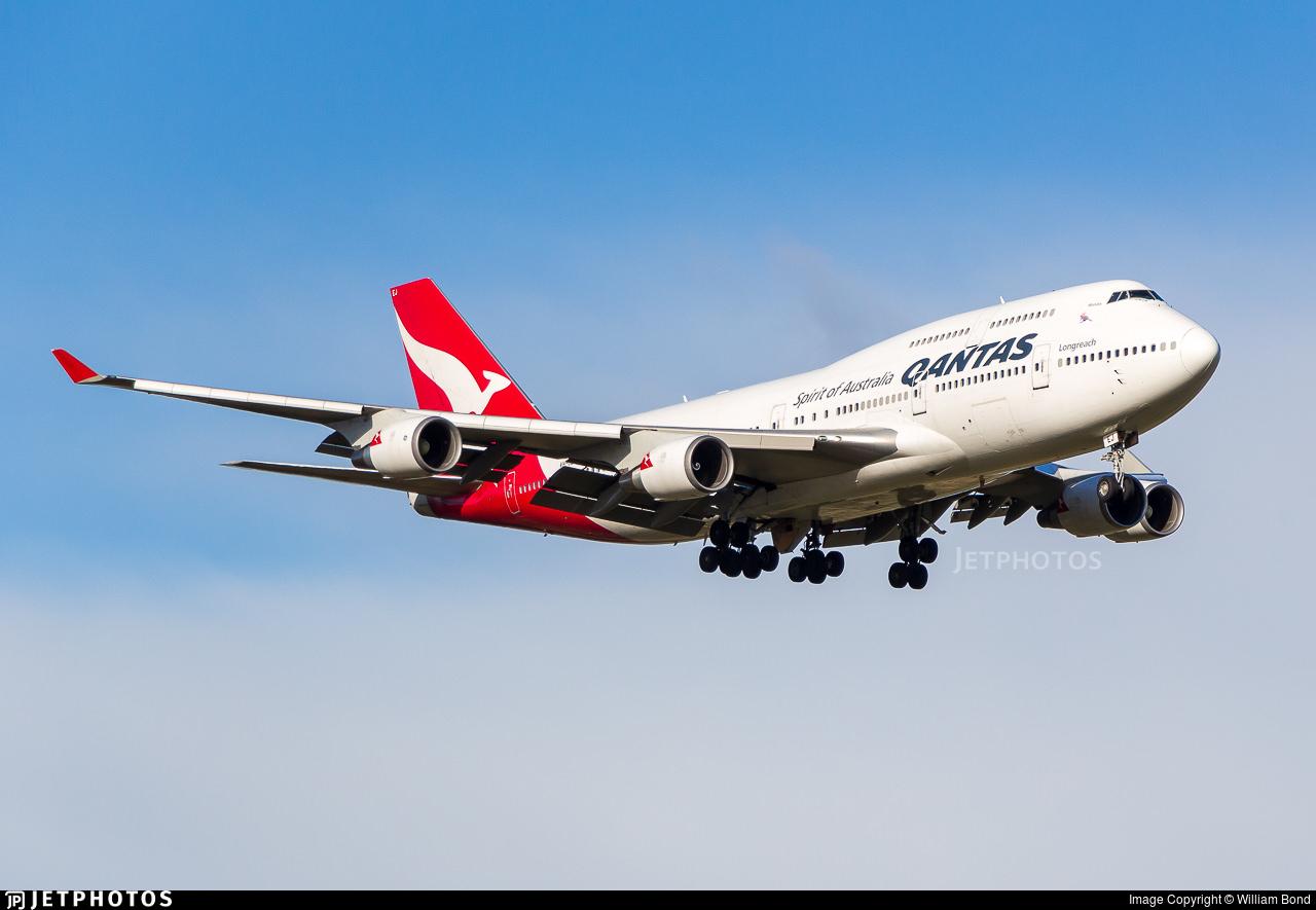 Qantas VH-OEJ 747