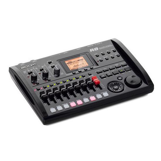 Grabadora de Audio Portátil ZOOM R8, Multipista, Interfaz, Controladora y Sampler