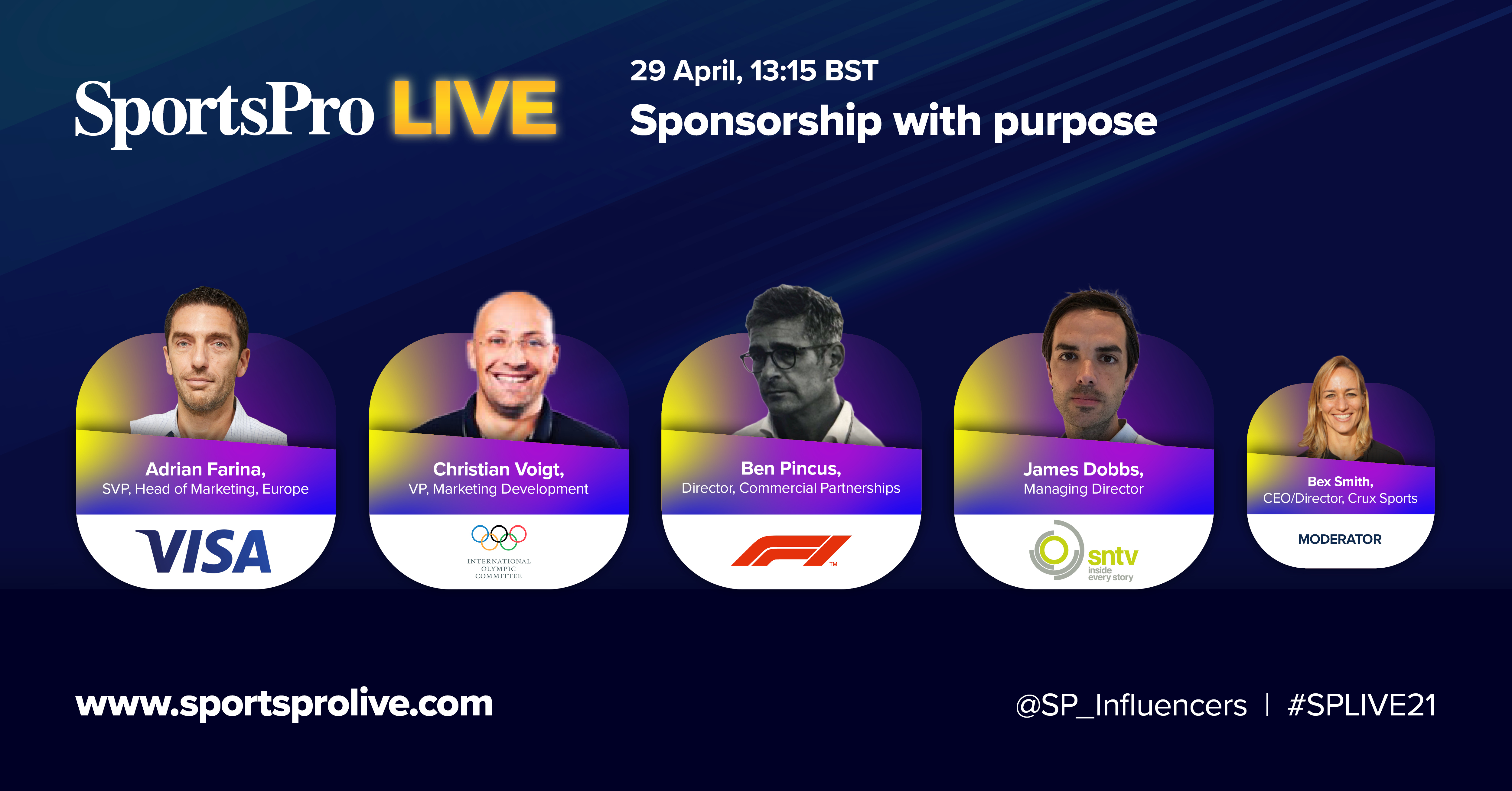 sntv joins panel discussion at SportsPro Live