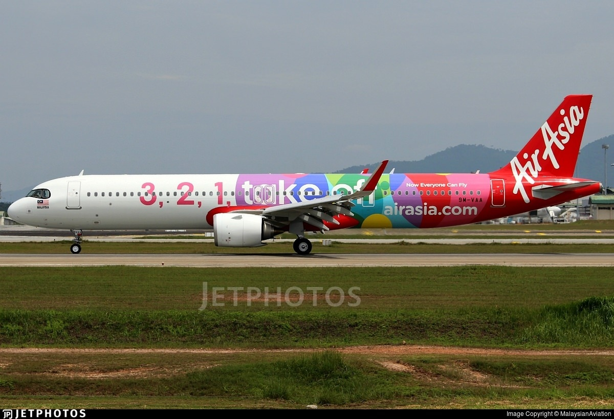 AirAsia's first A321neo