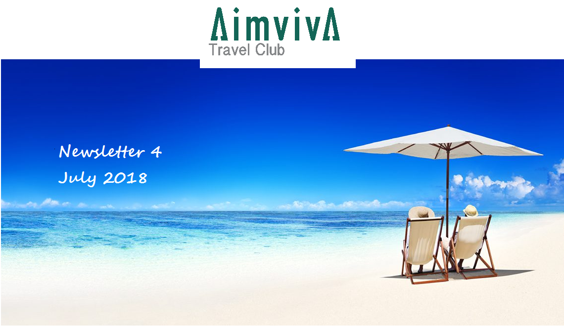 Aimviva Travel Club Newsletter July 2018 travel tech