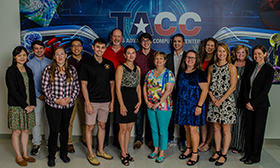 The new Expanding Pathways in Computing (EPIC) group at TACC.