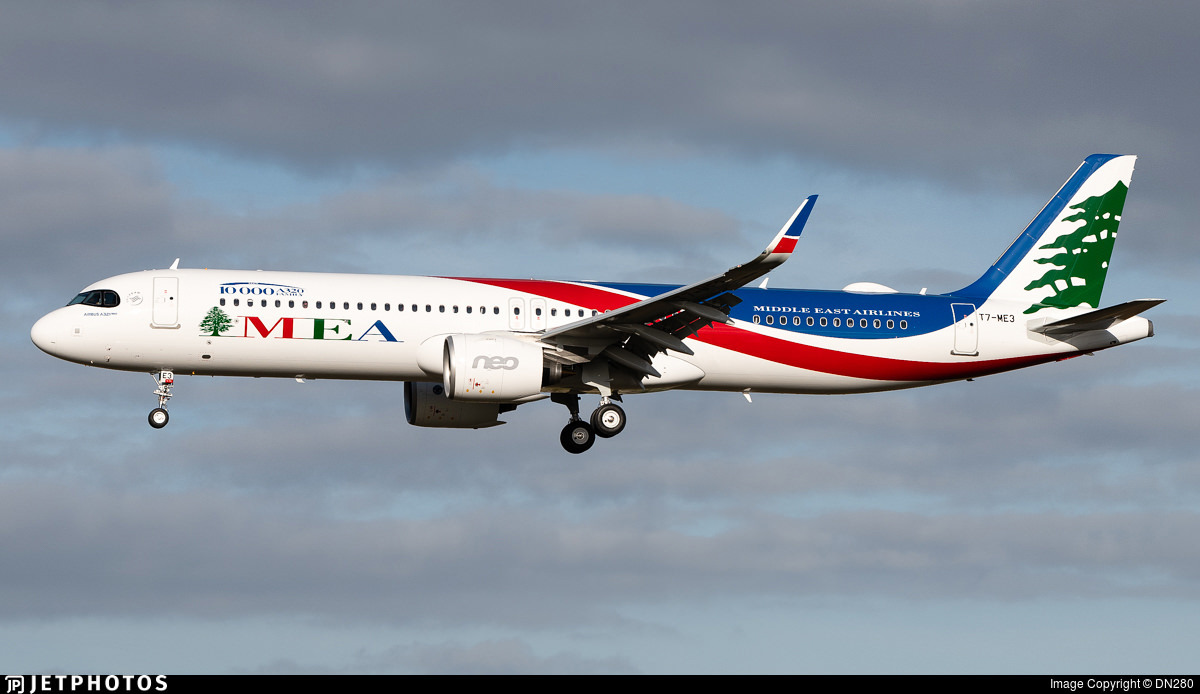 MEA's new A321neo