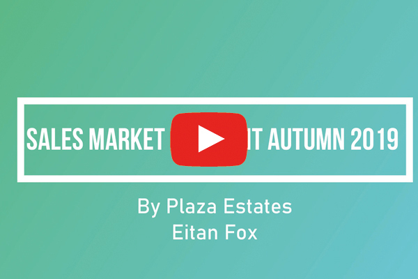 Sales Market Comment Autumn 2019 by Eitan Fox