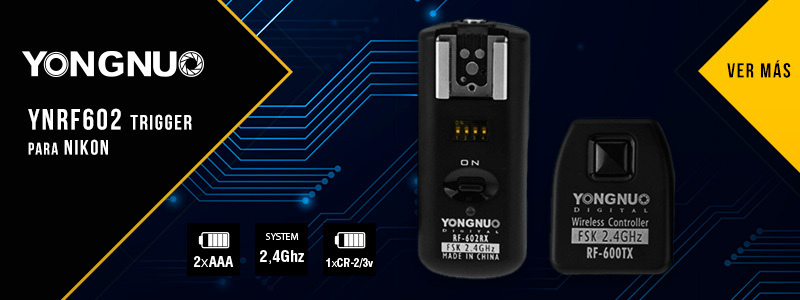 YNRF602 Trigger para Nikon