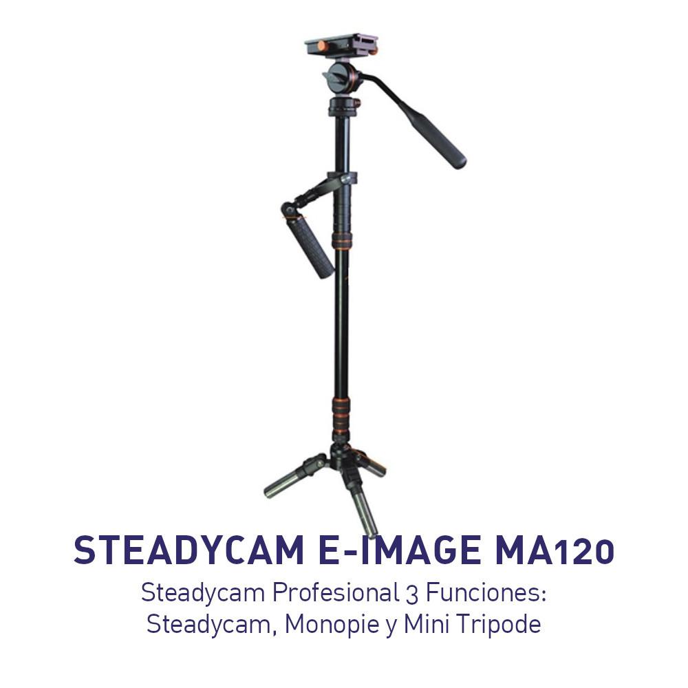 Steadycam Profesional 3 Funciones - E-Image MA120