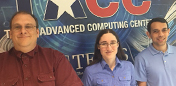 Welcome Michael, Sarah and Joe to TACC!