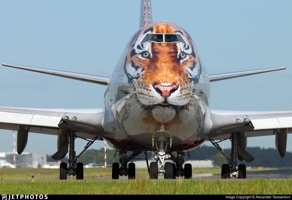 Rossiya's Tiger 747