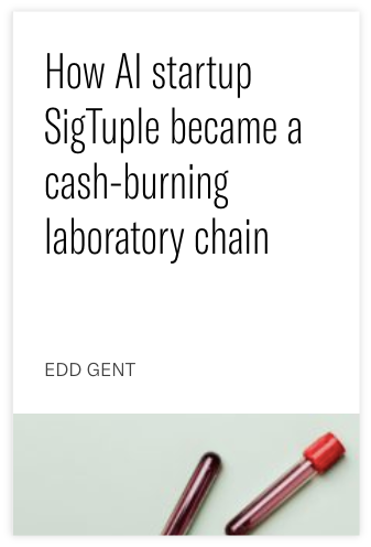 How AI startup SigTuple became a cash-burning laboratory chain