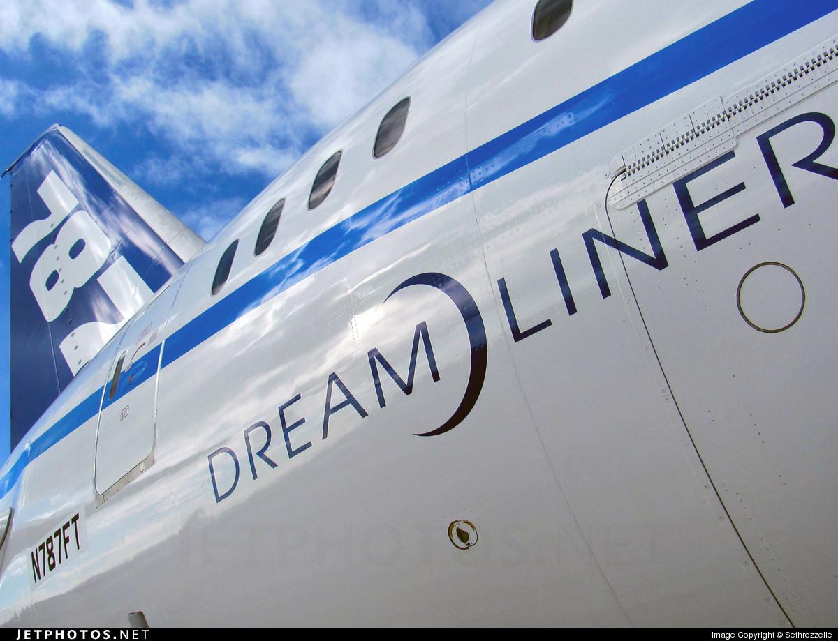Boeing 787 number 5