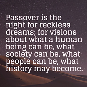 Rabbi Hartman Quote