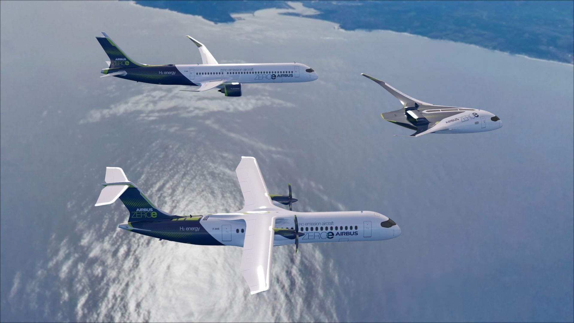 Airbus' hydrogen powered concept aircraft