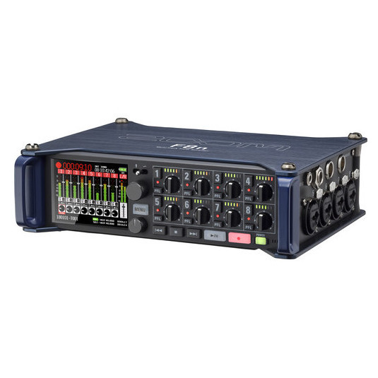 ZOOM F8N Grabadora de Campo 8 Entradas XLR 8 Canales y 10 Pistas