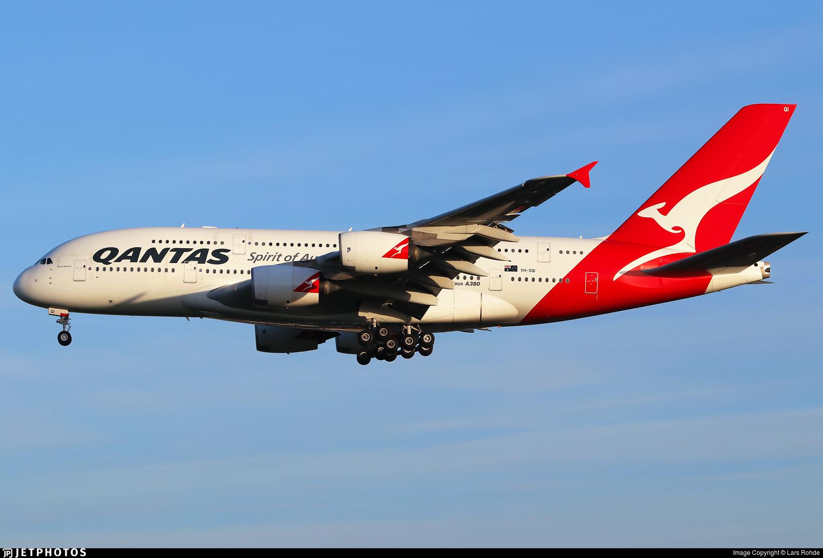 Qantas A380 VH-OQI