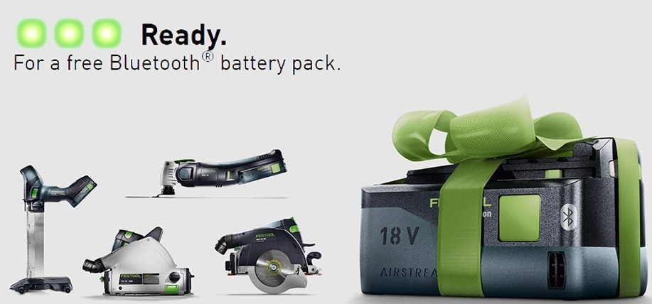 Free Festool Battery