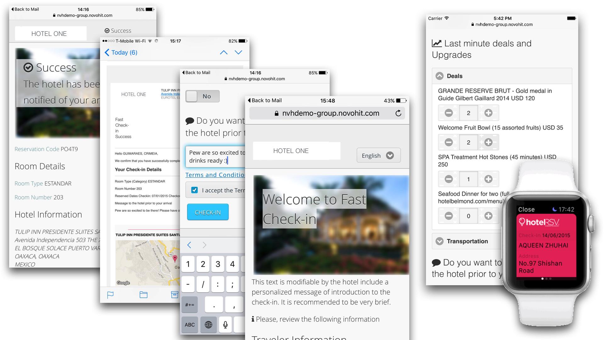 App Mobile hotelRSV