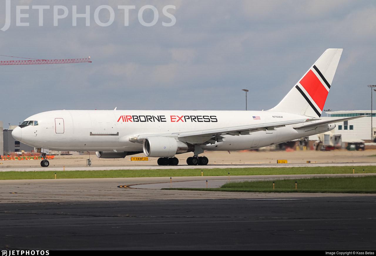 Airborne Express retro livery