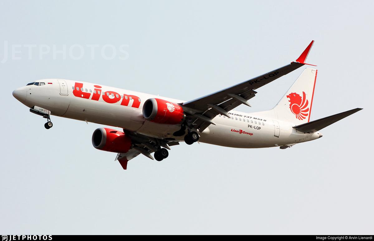 Lion Air 737 MAX PK-LQP