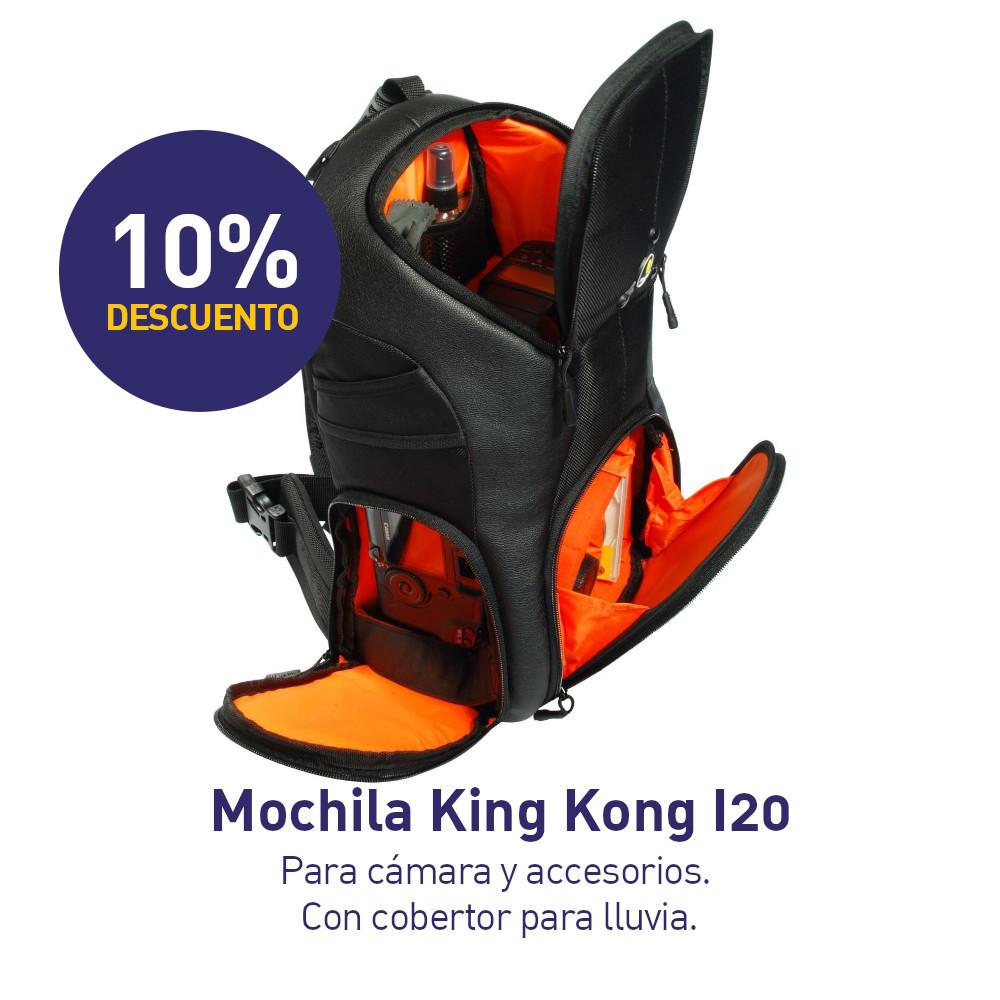 Mochila Fancier King Kong I20 Para Cámaras