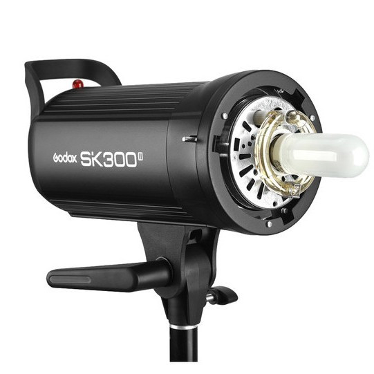 Flash estudio Godox SK-300II 300w/s duración del disparo hasta 1/2000 Montura S (tipo bowens)