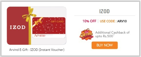 IZOD E-Gift Cards