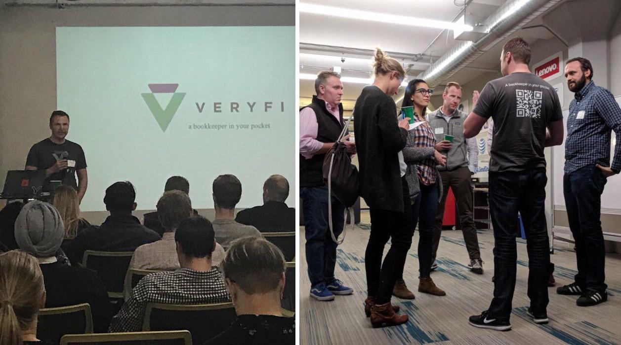 Veryfi presenting at Empire Startups SF Fintech Meetup