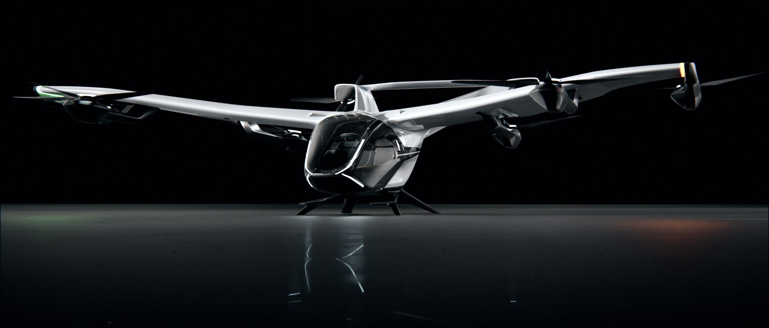 Airbus' new cityAirbus Nextgen eVTOL aircraft