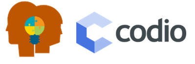 WeTeach_CS and Codio Logos
