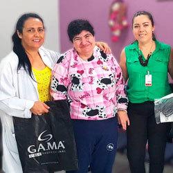 Doação Gamma Italy