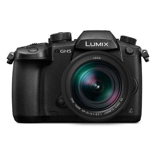 Camara Lumix GH5 con Lente LEICA 12-60 f/2.8-4 Muy Luminoso Con Video en 4K