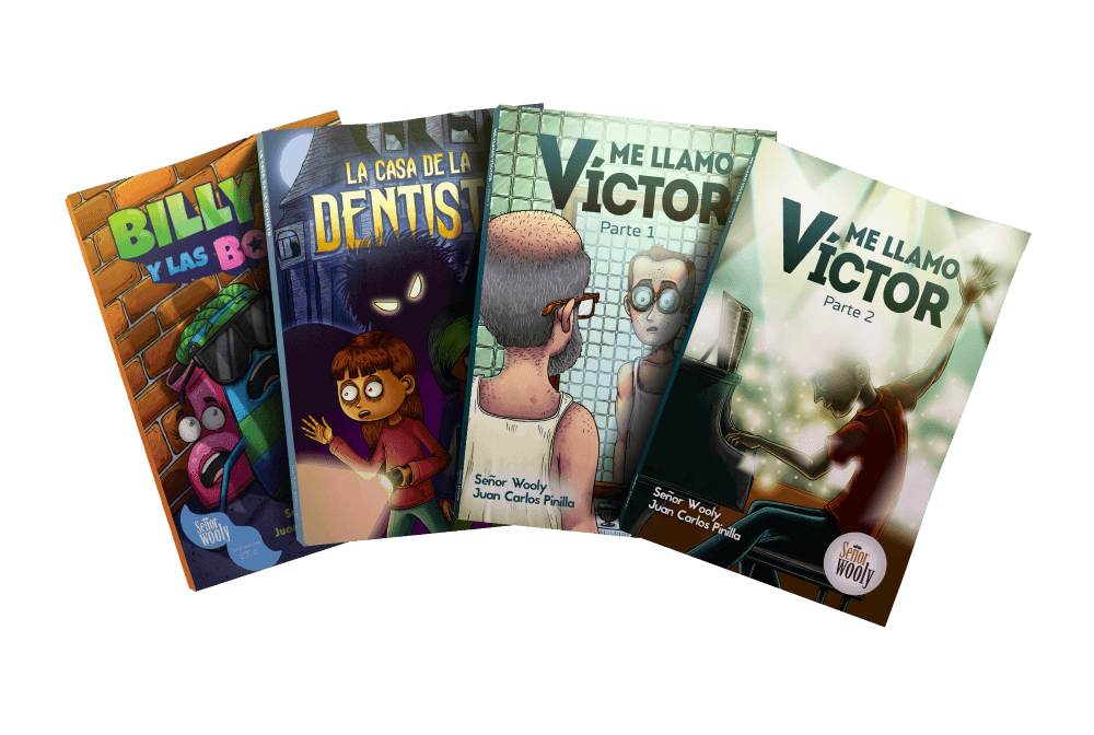 4 Wooly graphic novels