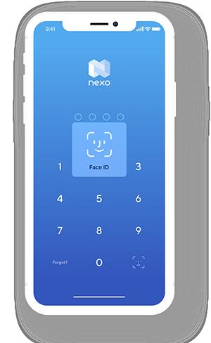 The Nexo Wallet app