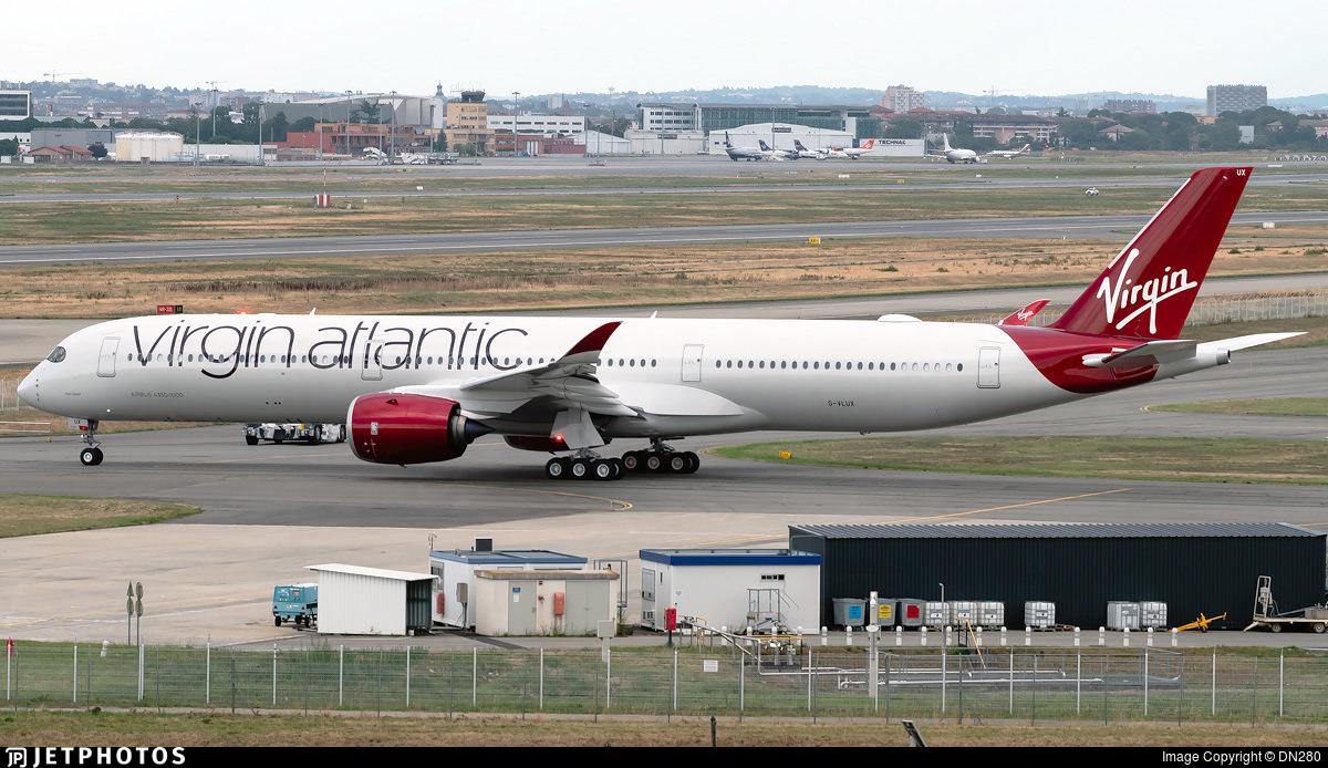 Virgin Atlantic's new A350
