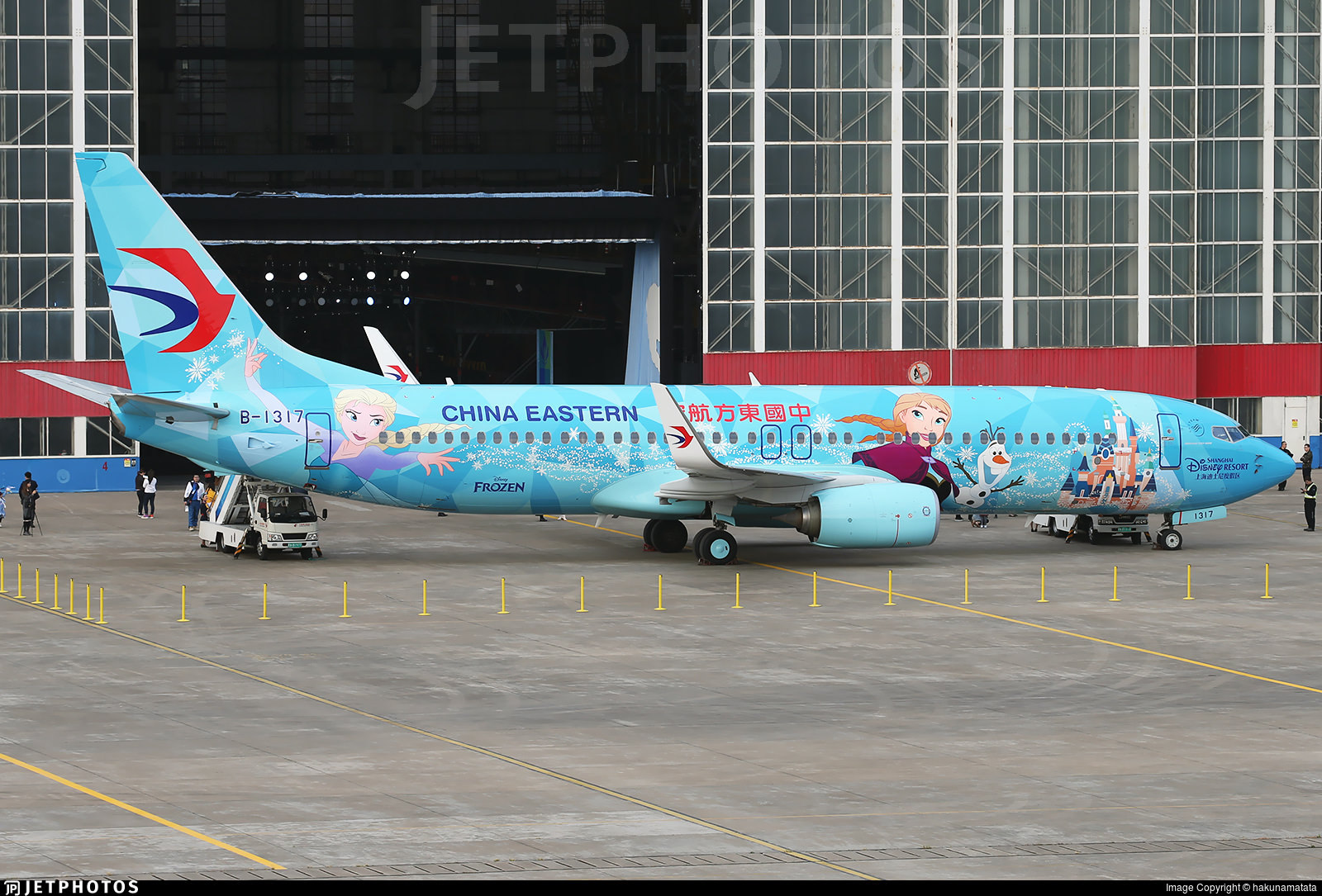China Eastern's new Frozen themed livery